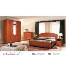 Спальня Любава 1 (угловой шкаф)