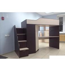 Кровать Крепыш-6 со ступенями
